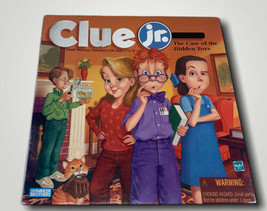 Vintage Clue Jr by Parker Brothers 1999 Hasbro EUC The Case Of The Hidde... - $10.84