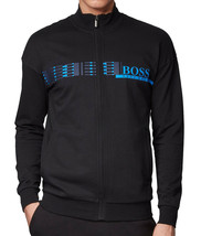 Hugo Boss Loungewear Jacket Zip Up Sweater Sweatshirt In French Terry