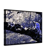"New Orleans Tree Climbing Canvas 24"" x 18"" Gallery Wrapped Canvas by BL ... - $69.99"