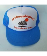 Otto Archaeological Services Inc. Polyester/Nylon Mesh Snapback Cap Hat ... - $28.79