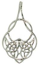 Jewelry Trends Sterling Silver Celtic Teardrop Knot Pendant - $23.99