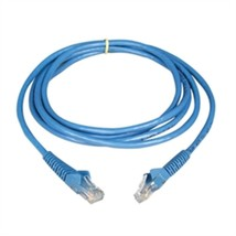 Tripp Lite Cat6 Gigabit Snagless Patch Cable 5ft RJ45 Blue - $22.09
