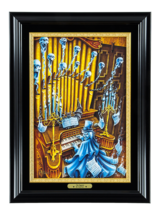 Disneyland Haunted Mansion The Organist LE Framed Giclle by Craig Fraser New - $824.49