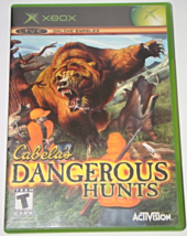 Xbox - Cabela's DANGEROUS HUNTS (Complete with Manual) - $6.75