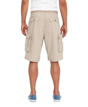Levi's Men's Premium Cotton Cargo Shorts With Belt Relaxed Fit Grey 13581-0012