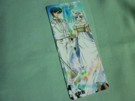 Sailor moon bookmark card sailormoon Crystal couple King Queen Serenity (A) - $6.00