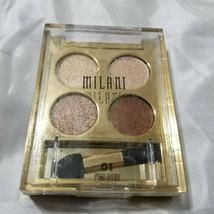 Milani Fierce Foil Eyeshine #J1314 Quad Eye Sahdow - $9.89
