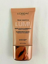 Loreal True Match Lumi Liquid Glow Illuminator Golden W101 - $5.93