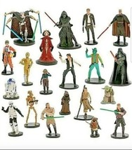 Disney Star Wars Mega Figure 20 Set Figurines Force Awakens Cake Toppers Darth - $74.24