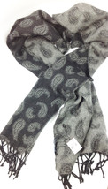 Lanvin Black Fig Scarf Cashmere & Wool Made in Germany MSRP: $265.00 - $118.79