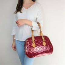 Louis Vuitton Pomme D'Amour Monogram Vernis Summit Drive Bag - $599.00