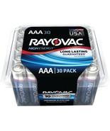 Rayovac Alkaline Batteries Reclosable Pro Pack (aaa; 30 Pk) RVC82430F - $30.10