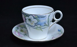 Vintage Fine Bone Bell China England Pattern 4508 Gilded Teacup Saucer F... - $9.95