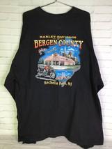 Harley Davidson Mens 3XL Bergen County Rochelle Park New Jersey T-Shirt ... - $67.31