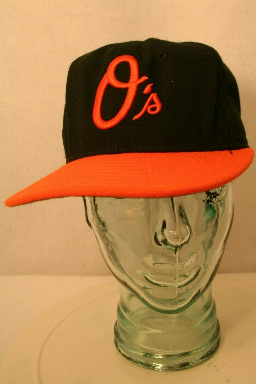 New Ear 59fifty Baltimore Orioles O's fitted 7 1/4 Black Orange bill Dad Cap Hat
