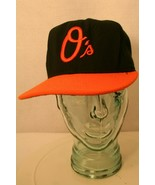 New Ear 59fifty Baltimore Orioles O's fitted 7 1/4 Black Orange bill Dad... - $19.95