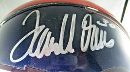 TERRELL DAVIS / AUTOGRAPHED DENVER BRONCOS NFL PRO LINE FOOTBALL HELMET / COA image 3