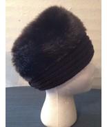 Brown Faux Fur Cossack Hat Cap Winter Stretch Fit (hb10) - $13.56