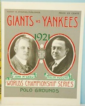 1921 Yankes v Giants Championship Series Reprint Ltd. Ed. - $9.89