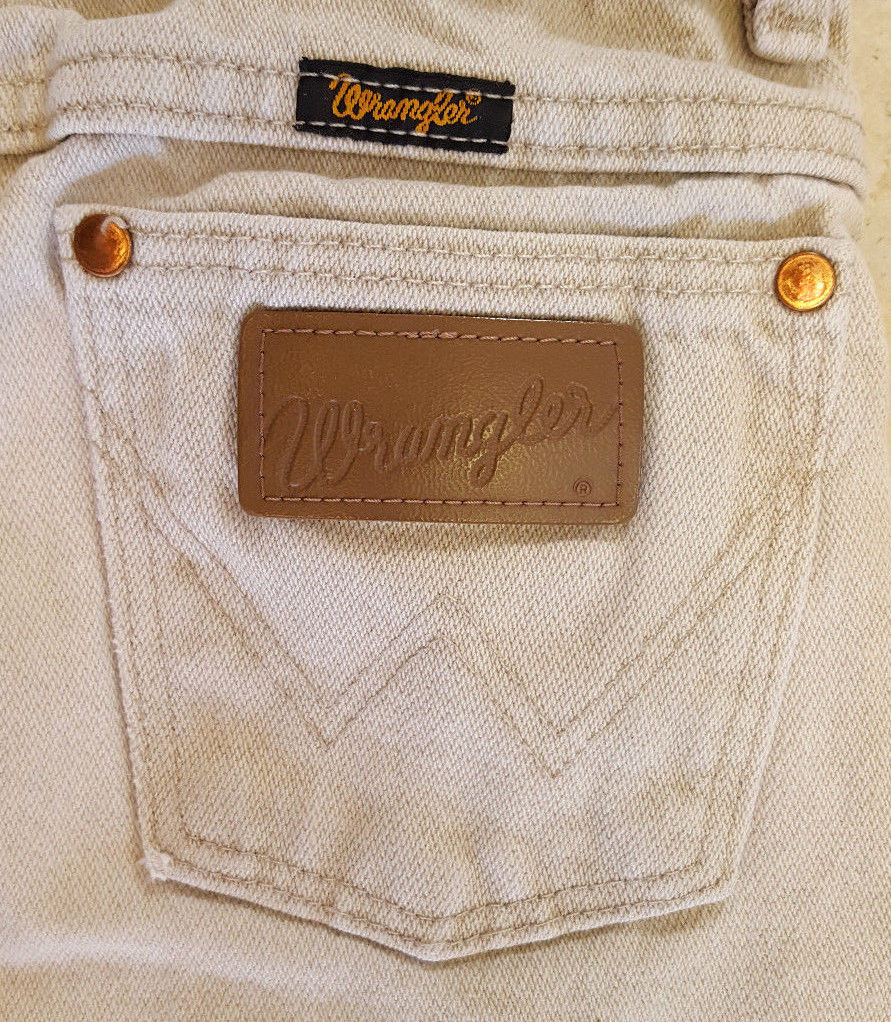2db74f01 Girls Wranglers Wheat Jeans -Size 11 Reg-Distressed Stains Spots