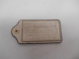 Genuine Coach Leather Keychain Holder Purse Tag Key Chain Fashion Accessories - $9.89