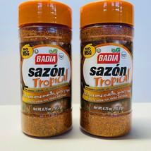 2 Badia Sazon Tropical Seasoning 6.75 oz Expires 2025 Annatto Spices NEW Sealed - $14.80