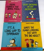 A New Peanuts Parade Book Charles M. Schulz FOUR  Books 1 ~ 2 ~ 20 ~ 24 ... - $69.29