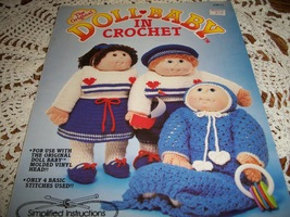 The Original Doll Baby In Crochet - $5.00
