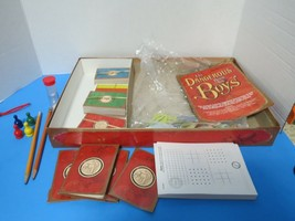 The Dangerous Book For Boys Board Game Parker Brothers 2008 - $9.00