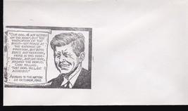 JOHN F. KENNEDY ADDRESS THE NATION VINTAGE UNUSED ENVELOPE - $3.13