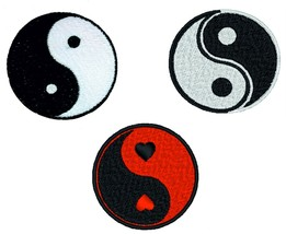 Yin Yang Embroidery Patches Iron Sew On Fancy Dress Jeans Jacket Badge A... - $2.88+