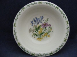 "Thomson Floral Garden 7"" Soup Bowl Blue Irus Flowers - $9.99"