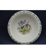 """Thomson Floral Garden 7"""" Soup Bowl Blue Irus Flowers - $9.99"""