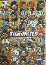 2016 TEENYMATES SERIES 5 COMPLETE NFL PUZZLE SET / ALL 35 PIECES - BRAND... - $3.83