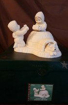 Dept 56 Snowbabies Music Box 1999 THAT'S WHAT FRIENDS ARE FOR 69041 Reti... - $19.95