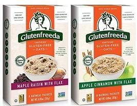 Glutenfreeda Wheat Free, Gluten Free Instant Oatmeal 2 Flavor Variety Bundle: 1