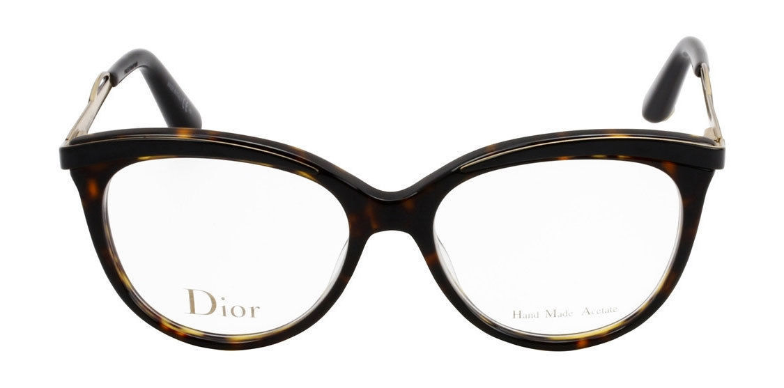 b54151a06a52 Dior Eyeglasses 3279 Dark Havana Black 6NY Women s Optical Frame CD3279