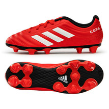 Adidas Jr. Copa 20.4 FG Football Shoes Youth Soccer Cleats Red EF1919 - $48.99