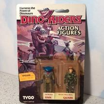 1987 TYCO DINO RIDERS ACTION FIGURES VINTAGE EVIL RULON FINN HEROIC QUAR... - $94.05