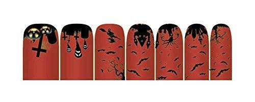 Creative Fashionable Green Nail Stickers Nail Decoration, Halloween