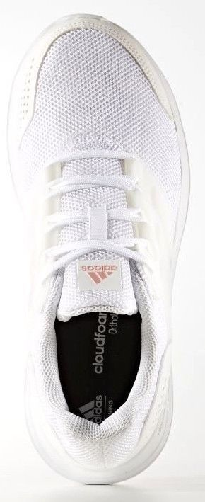 brand new ab039 fdb45 ADIDAS CLOUDFOAM GALAXY 4W WOMENS WHITE TRAINING SHOES S80642