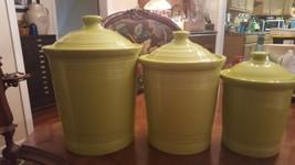 Fabulous Fiesta  Lemongrass Medium 2QT Canister NWT - $56.00