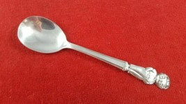 Vintage Silverplate Youth Spoon with Campbells Kid Boy by International Silver - $12.86