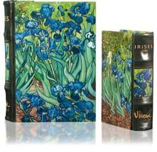 Vincent Van Gogh Irises Nesting Book Box Set Art Masterpiece Collection  - $45.53