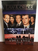 Law & Order: The Fourth Year, 1993-1994 Season DVD (17 hours+) - $20.00
