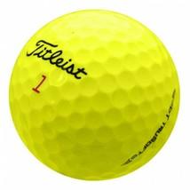 36 Mint YELLOW Titleist DT Trusoft Golf Balls - FREE SHIPPING - $59.39