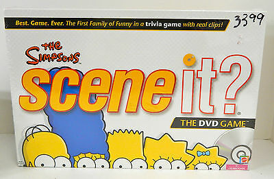 FACTORY SEALED THE SIMPSON'S SCENE IT? DVD BOARD GAME! - $18.69