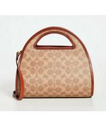 Coach 1941 Zip Dome Signature Canvas Tote Crossbody Bag ~NWT~ Tan 146 - $289.58