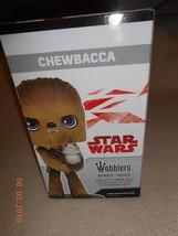 New Disney Star Wars Chewbacca Wobblers Bobble Heads Funko All kids coll... - $14.36