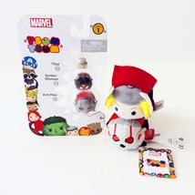 Disney Marvel Tsum Tsum Vinyl Figure 3 Pack & 2 Plush (Thor, Ant-Man, & ... - $13.00